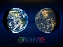 Выберите наше будущее иллюстрация вектора