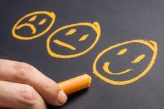 Выберите сторону улыбки Стоковое Изображение