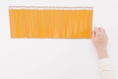 выбирать карандашей Стоковое Изображение