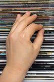 выбирать кассеты Стоковая Фотография RF