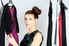 Выбирать платье Стоковые Изображения RF