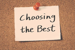 Выбирать самое лучшее стоковое изображение