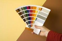 выбирать цвета Стоковая Фотография