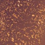 Выбитый confetti влияния 3D Грязные формы Современное искусство Поверхность покрашенная конспектом иллюстрация вектора