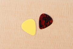 Выборы гитары стоковые изображения rf