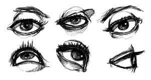 выбор глаза Стоковые Изображения RF