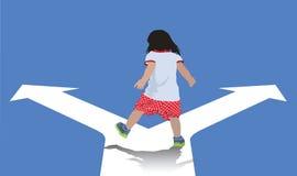 Выбор для ребенка Стоковое фото RF