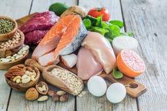 Выбор еды для потери веса Стоковые Фото
