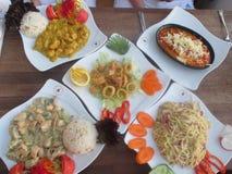 Выбор еды Стоковые Фотографии RF