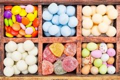 Выбор конфеты стоковое изображение rf