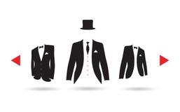 Выбор костюма бесплатная иллюстрация