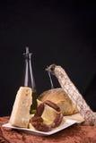 выбор обеда antipasto Стоковые Фотографии RF