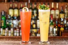 Выбор пить коктеилей бара встречный Стоковые Фото