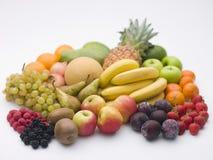 выбор свежих фруктов Стоковое Фото