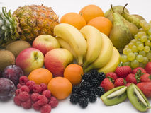 выбор свежих фруктов Стоковая Фотография