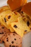 Выбор сладостных хлеба и печений Стоковая Фотография RF