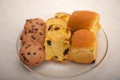 Выбор сладостных хлеба и печений Стоковые Изображения