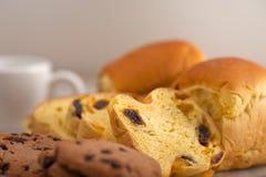 Выбор сладостных хлеба и печений Стоковое фото RF