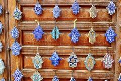 Выбор традиционных морокканских талисман Стоковое Изображение