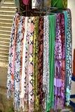 Выбор шарфов Стоковые Изображения RF
