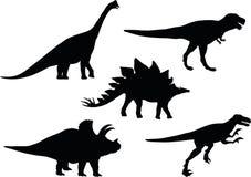 Выбор Dino иллюстрация штока