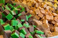 Выбор fudge смешивания n выбора Стоковая Фотография
