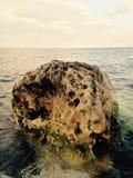 Выветренный камень Стоковое Изображение