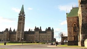 Выведенный лоток Оттавы холма парламента