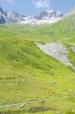 выгоны франчуза alps Стоковые Фотографии RF
