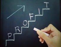 Выгода вверх по лестницам стоковые фотографии rf