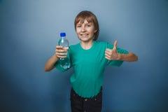 выглядящий Европейск мальчик 10 лет от butolkoy Стоковые Изображения