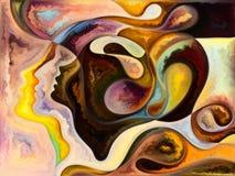 Выдвижение внутренних цветов бесплатная иллюстрация