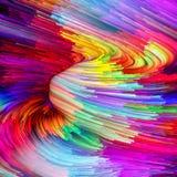 Выдвижение жидкостного цвета Стоковое Фото