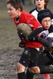 выдвиженческая молодость турнира рэгби Стоковые Фото