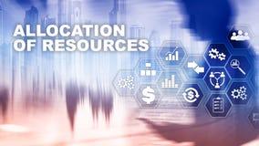 Выделение средства концепция Стратегическое планирование Мультимедиа абстрактное дело предпосылки Финансовая технология и стоковая фотография