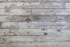 Выдержанная белая деревянная предпосылка siding амбара Стоковое Изображение