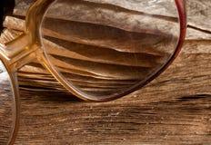 выдержанная старая стекел книги antique Стоковое фото RF