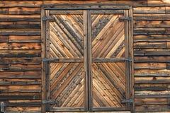 выдержанное wallper barnboards Стоковое фото RF