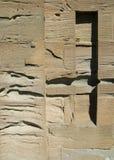 выдержанный песчаник Стоковые Фото