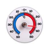 Выдержите термометр Стоковая Фотография RF