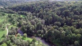 Выдержка Puckoriai в Вильнюсе, Литве Sightseeing место видеоматериал