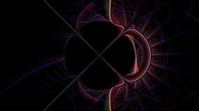 Выдуманные миры фракталей Стоковое Изображение RF