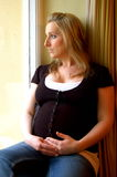 выжидательная мать Стоковая Фотография