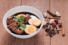 Вызванная кухня, тайская еда Таиланда Стоковая Фотография RF