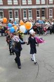 вызовите сперва 1-ое сентября, день знания в русской школе День знания школа дня первая Стоковое Изображение RF