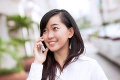 Вызывать телефоном Стоковое Изображение RF