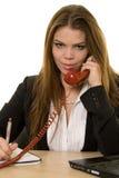 вызывать телефон Стоковое Изображение