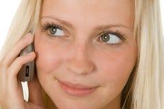 вызывать телефон стоковая фотография