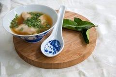 выигранная тонна супа Стоковые Фотографии RF
