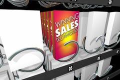 Выигрывая торговый автомат закуски методов продаж Стоковые Изображения RF